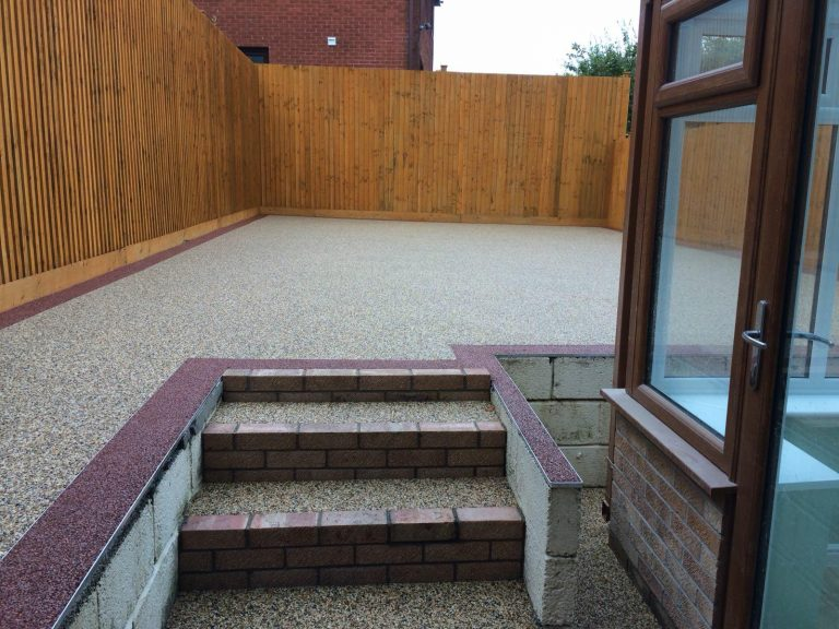 Resin Bound Installation in Purley